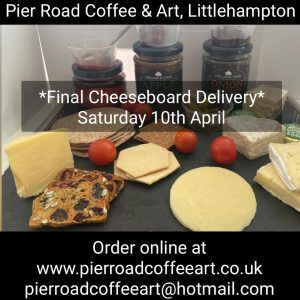 Lockdown Delivery – Cheese Platter for 1 (Saturday 10th) Option A