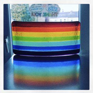 Glass Design – Rainbow Panel