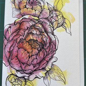 Art Card – Flowers #2
