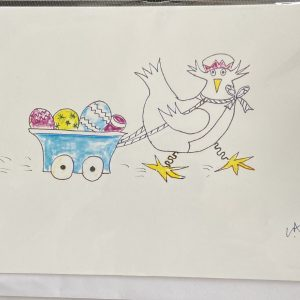 Art Card – Egg Trolley