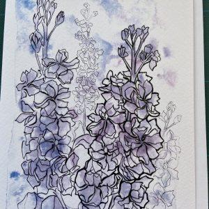 Art Card – Flowers #5