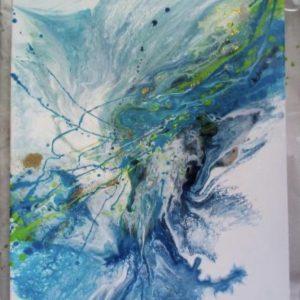 Original Paintings – Sea Wave