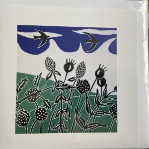 Art Card – Over The Hedgerow (sc)
