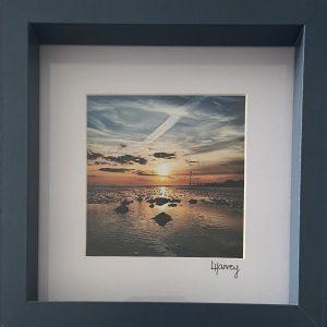 Framed Photography – Rustington Sunset