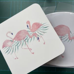 Mugs – Flamingo (Mug & Coaster Set)