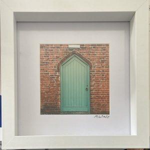 Framed Photography – Untitled (Green Door) New Inn #1
