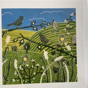 Art Card – Sussex In Spring (sc)