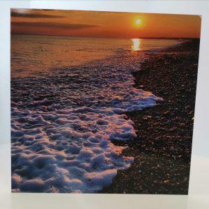 Art Card – Sunset Waves