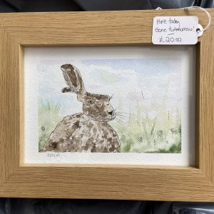 Original Paintings – Hare Today, Gone Tomorrow