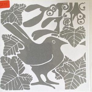Art Card – Bird (silver/great 1)