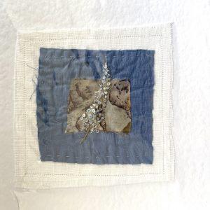 Art Card – Leaf 2 (original textile)
