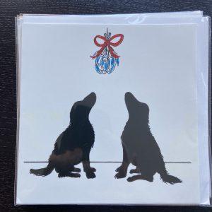 Art Card – Mistletoe Dogs (Xmas Range)